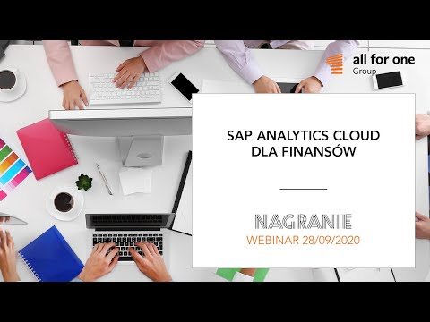 SAP Analytics Cloud dla finansów