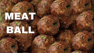 VERY TASTY MEATBALL RECIPE   Meatball   HOW TO MAKE MEATBALLS   MEATBALL RECIPE   MEATBALL MARINARA