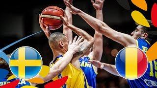 Sweden v Romania - Full Game - Class. 13-16 - FIBA U20 European Championship 2018 | Kholo.pk