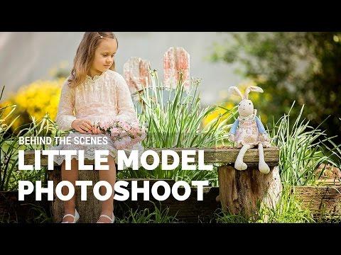 Little Model Photoshoot, Sacramento Portrait Photographer Behind the Scenes
