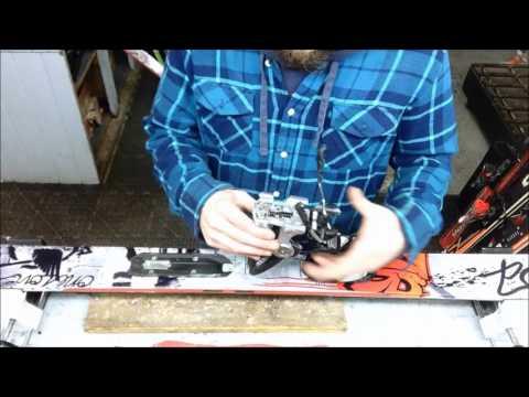 Mounting Marker Griffon Ski Bindings