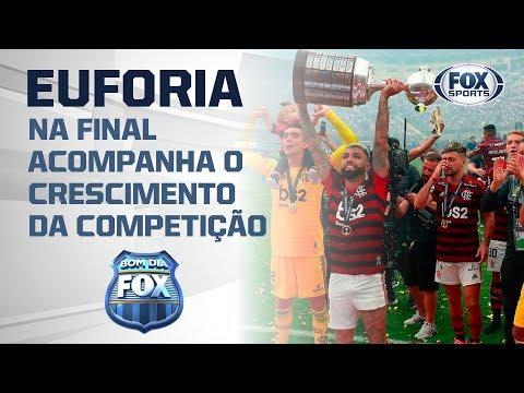 IMPACTOU O MUNDO? Euforia na final da Libertadores acompanha o crescimento da competição