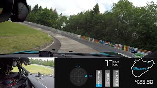 [Porsche] Onboard Lap - Porsche Taycan Sets a Record at the Nürburgring-Nordschleife
