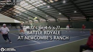 4.5 Doubles Match @ John Newcombes Tennis Ranch | Tennis Con 2