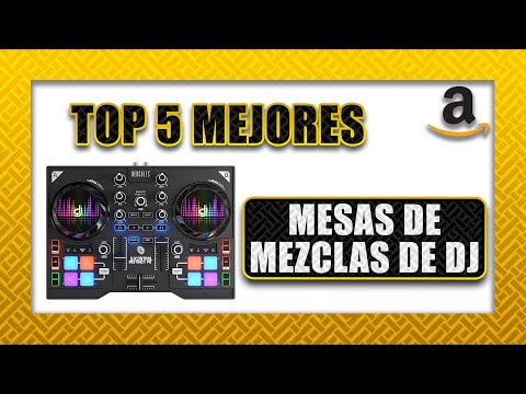 💿 Top 5 ► Mesa de mezclas DJ   Amazon 2020🎧
