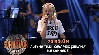 Yarışmacılar Aleyna Tilki'nin 'Cevapsız Çınlama' şarkısıyla Eğlendi | 70.Bölüm | Survivor 2018
