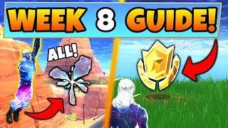Fortnite WEEK 8 CHALLENGES GUIDE! – ALL RIFT Locations, Treasure MAP (Battle Royale Season 5)