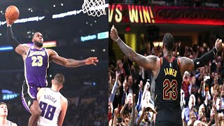 NBA King James MOMENTS