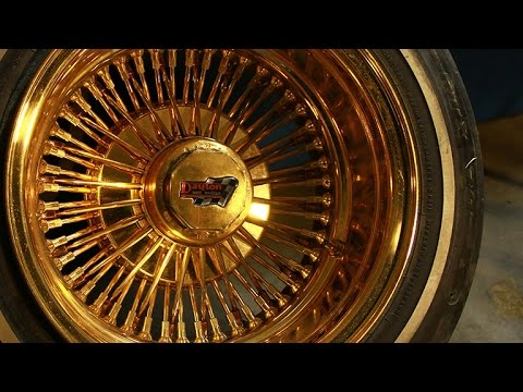 How To Identify And Clean Authentic All Gold Dayton Wire Wheels Mp3