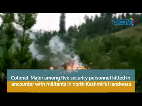 Colonel, Major among five security personnel killed in  Handwara gunfight