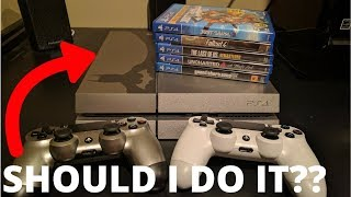 Trading In My ENTIRE PS4 COLLECTION... How Much Will GameStop Pay Me?? (You'll Be Surprised)