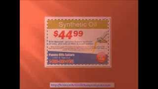 Synthetic Oil Change Coupons - $10 off on Synthetic Oil Change with Synthetic Oil Change Coupons