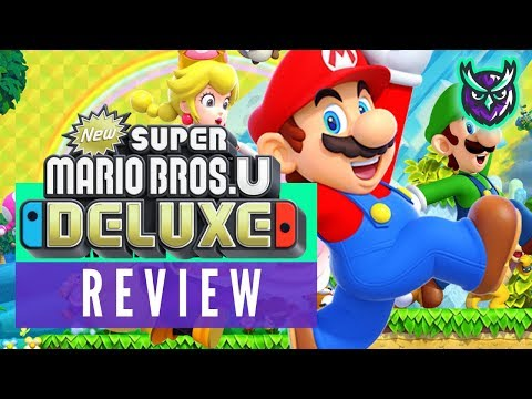New Super Mario Bros U Deluxe Switch Review video thumbnail