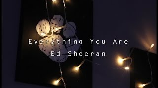Everything You Are - Ed Sheeran (Unofficial Music Video)
