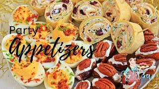 3 Delicious Party Appetizers Recipes | Holiday Party Appetizers