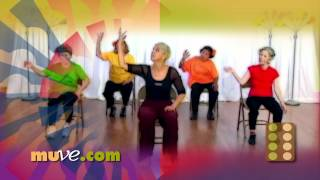 Dance Along Workout for Seniors and Elderly - Low Impact Dance Exercise on Chairs by MUVEmethod