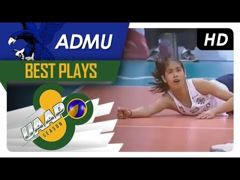 UAAP 80 WV: Deanna Wong somehow scores off the reception! | ADMU | Best Plays