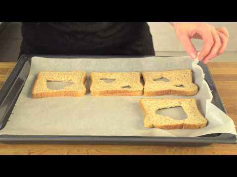 Herz-Toast