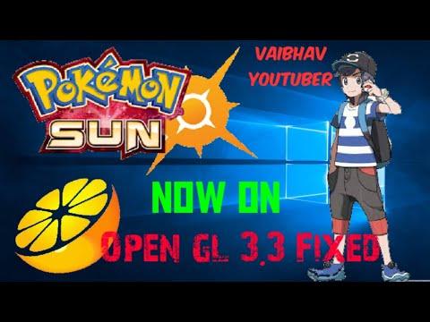 Pokemon 3ds EMU 3 2 Fix opengl///2019 - смотреть онлайн на