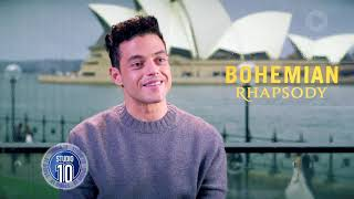 Rami Malek On Embodying Freddie Mercury In 'Bohemian Rhapsody' | Studio 10
