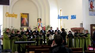 preview picture of video 'Sacrosong 2014 Pułtusk - II miejsce - Cantores Egregientes'