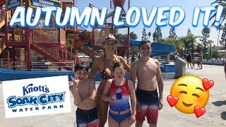 Knott's Soak City Water Park Visit  A Day In The Life Of A Special Needs Mom