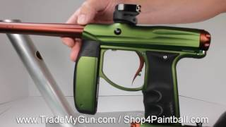 Axe with Redline Paintball Gun by Empire
