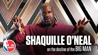 Shaq's exclusive ESPN interview on the decline of the Big Man in the NBA