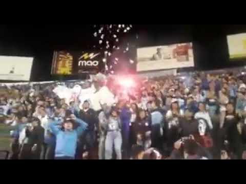 """""""Señores yo soy de la celeste- ULTRAS 94"""" Barra: Los Ultras • Club: Macará"""