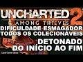 Uncharted 2: Among Thieves Detonado Do In cio Ao Fim di