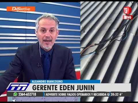 Gerente de Eden- Alejandro Biancosino