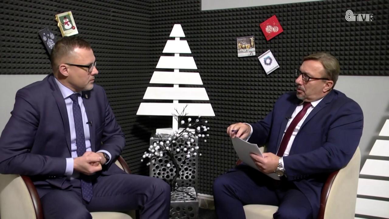 """""""Nasze sprawy"""" – rozmowa z prezydentem Sieradza –  Pawłem  Osiewałą"""