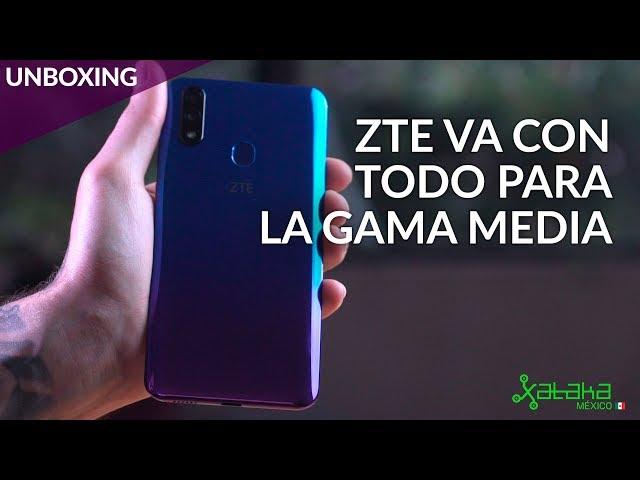 ZTE Blade V10, UNBOXING: la GRAN sorpresa para la GAMA MEDIA de México
