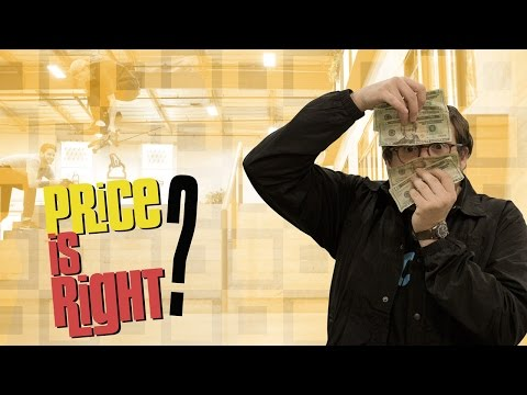 Price Is Right with Aaron 'Jaws' Homoki