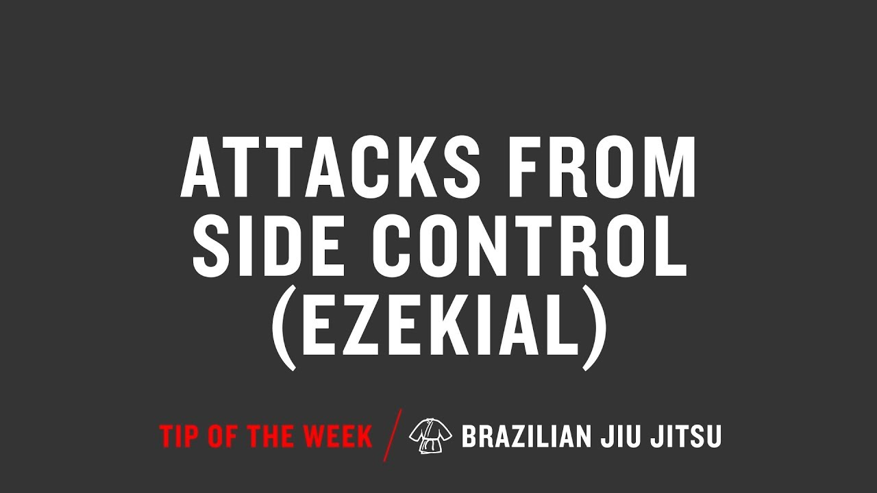 Attacks From Side Control Ezekial