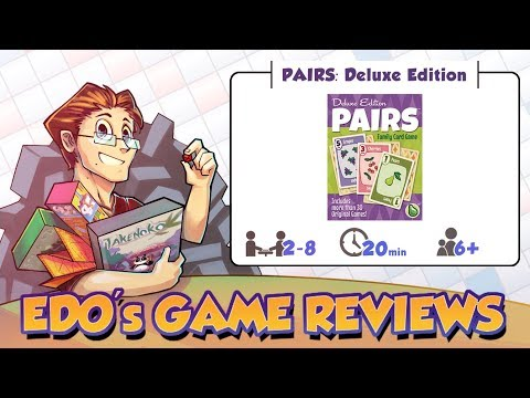 Edo's Pairs: Deluxe Edition Review
