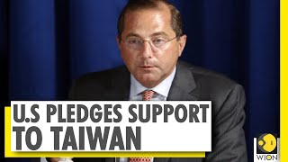 U.S health secretary Alex Azar meets Taiwan president  IMAGES, GIF, ANIMATED GIF, WALLPAPER, STICKER FOR WHATSAPP & FACEBOOK