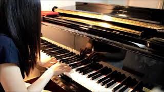 "Hebe 田馥甄   愛了很久的朋友 (電影 ""後來的我們"" 插曲)   Piano Cover By Melody"