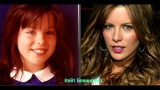 Самые популярные актрисы Голливуда в детстве и сейчас