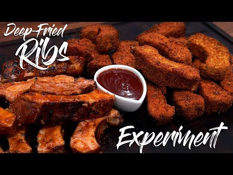 Sous Vide DEEP FRIED RIBS Experiment!