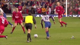 Liverpool 1-0 Barcelona -  UEFA Cup Semi-final 2000/2001