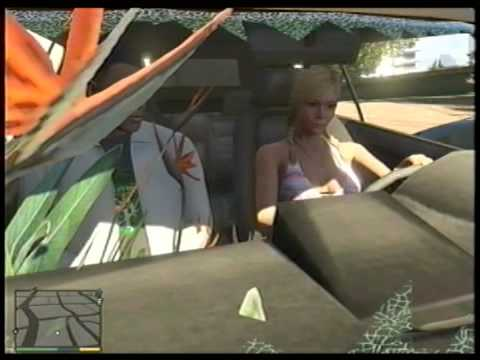 GTA 5 TRACEY GETS STUCK DRIVING Bumper Car Short
