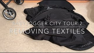 How to Remove and Wash the Textiles on a Babyjogger City Tour 2