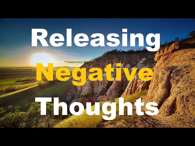 Releasing Negative Thoughts Spoken Affirmations for a peaceful, calm positive mind