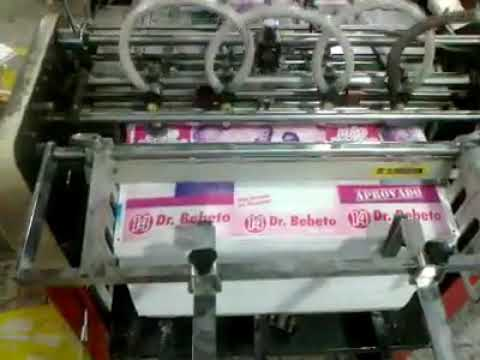 Hamada 800 DX Mini Offset Printing Machine