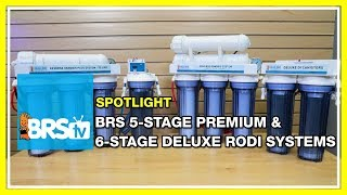 Filtering your city or well water with the BRS 5-Stage and 6-Stage RODI units | BRStv Spotlight