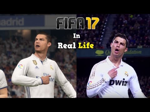 FIFA celebrations in Real Football | NEW