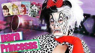 COSMETICA Disney ¡A Prueba! 👑 Tratamiento FACIAL Para PRINCESAS Y NO TAN PRINCESAS | Dianina XL