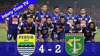 Persib Bandung 4-2 Persebaya Surabaya | ISL 2009/2010 | All Goals & Highlights