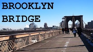 preview picture of video 'New York - Brooklyn Bridge (Subtitled)'